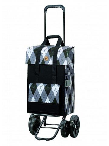 Nákupní taška na kolečkách Andersen Quattro Shopper Ine šedá