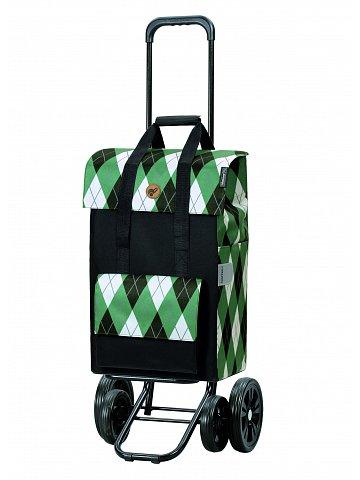 Nákupní taška na kolečkách Andersen Quattro Shopper Ine zelená