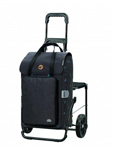 Nákupní taška se sedátkem Andersen Komfort Shopper Ivar šedá