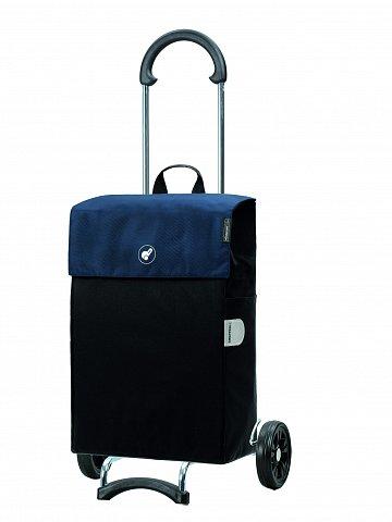 Nákupní taška na kolieskách Andersen SCALA SHOPPER® HERA. modrá, 44l