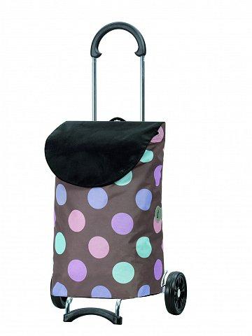 Nákupní taška na kolečkách Andersen SCALA SHOPPER® ISY, hnědá, 49l