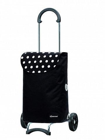 Taška na kolieskách Andersen SCALA SHOPPER® ELBA, černá