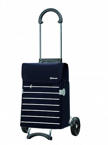 Nákupní taška na kolečkách Andersen SCALA SHOPPER® LINI, modrá, 34l