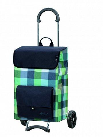 Nákupní taška na kolečkách Andersen SCALA SHOPPER® RIVA, modrá, 49l