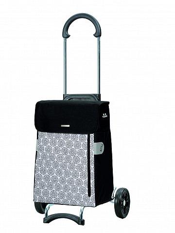 Nákupní taška na kolečkách Andersen SCALA SHOPPER® MUNA, bílá, 34l