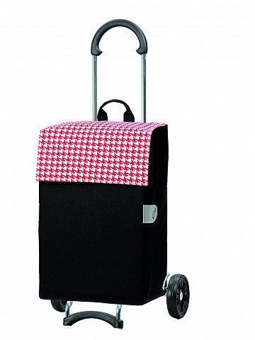 Nákupní taška na kolečkách Andersen SCALA SHOPPER® IKO, červená, 44l