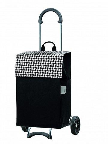 Nákupní taška na kolečkách Andersen SCALA SHOPPER® IKO, černá, 44l