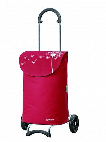 Nákupní taška na kolečkách Andersen SCALA SHOPPER® BEA, červená, 36l