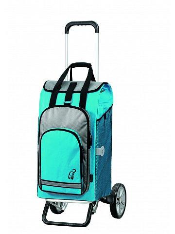 Nákupní taška na kolečkách Andersen ALU STAR SHOPPER® HYDRO, modrá, 60l