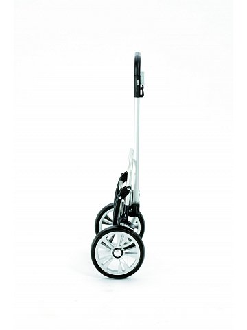 Nákupní taška na kolečkách Andersen ALU STAR SHOPPER® BLOM, šedá, 49l