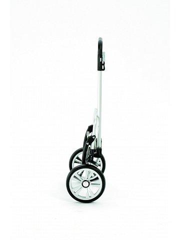 Nákupní taška na kolečkách Andersen ALU STAR SHOPPER® HAVA, stříbrná, 39l
