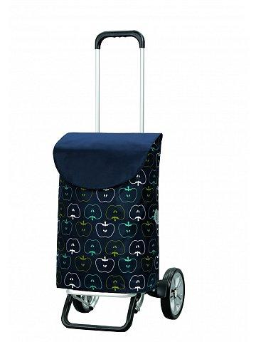 Nákupní taška na kolečkách Andersen ALU STAR SHOPPER® HAVA, modrá, 39l