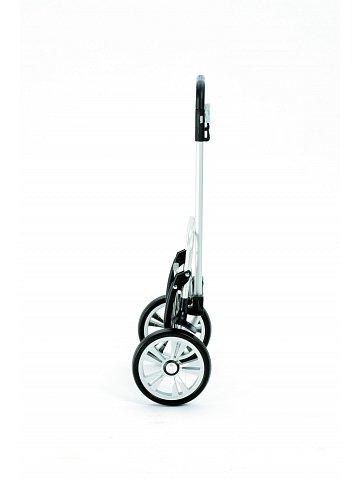 Nákupní taška na kolečkách Andersen ALU STAR SHOPPER® GERRY, šedá, 49l