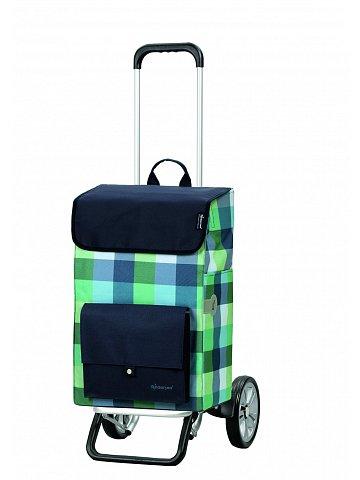 Nákupní taška na kolečkách Andersen ALU STAR SHOPPER® RIVA, modrá, 49l