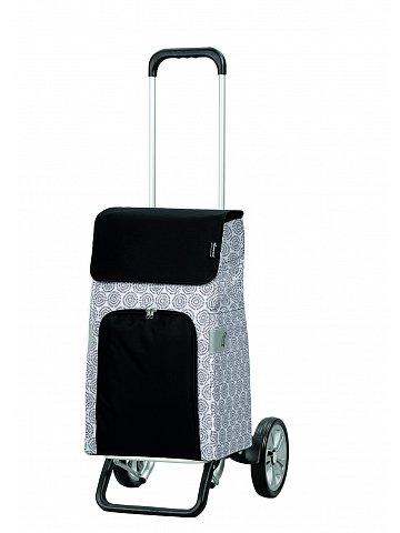 Nákupní taška na kolečkách Andersen ALU STAR SHOPPER® HENNI, bílá, 45l