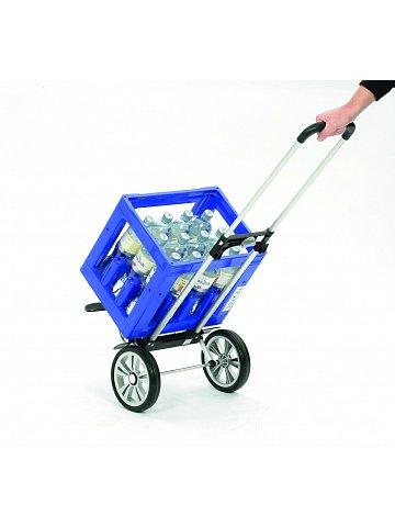 Nákupní taška na kolečkách Andersen ALU STAR SHOPPER® HENNI, černá, 45l