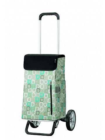 Nákupní taška na kolečkách Andersen ALU STAR SHOPPER® TEKIN, šedá, 43l