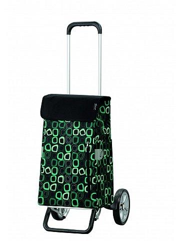 Nákupní taška na kolečkách Andersen ALU STAR SHOPPER® TEKIN, černá, 43l