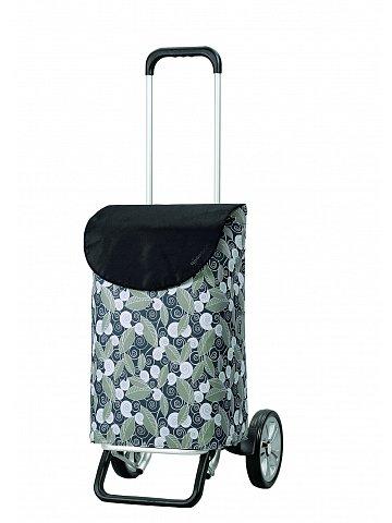 Nákupní taška na kolečkách Andersen ALU STAR SHOPPER® SUSI, šedá, 39l