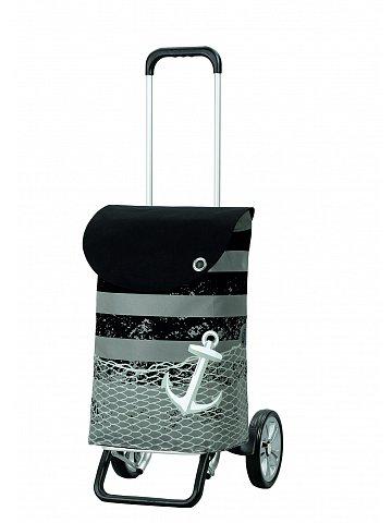 Nákupní taška na kolečkách Andersen ALU STAR SHOPPER® MEER, černá, 39l