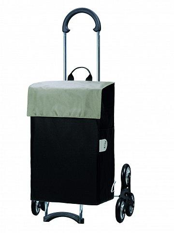 Nákupní taška Andersen TREPPENSTEIGER SCALA SHOPPER® HERA - DO SCHODŮ, stříbrná