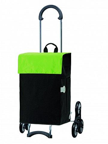 Nákupní taška Andersen TREPPENSTEIGER SCALA SHOPPER® HERA - DO SCHODŮ, zelená