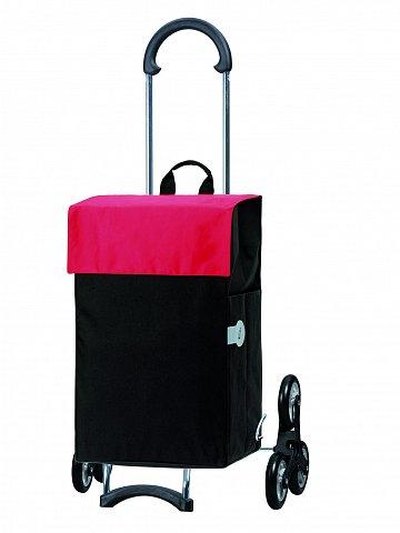 Nákupní taška Andersen TREPPENSTEIGER SCALA SHOPPER® HERA - DO SCHODŮ,červená