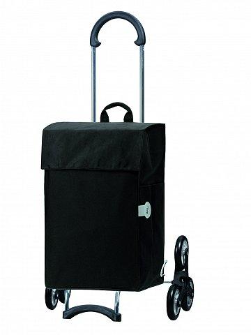 Nákupní taška Andersen TREPPENSTEIGER SCALA  SHOPPER® HERA - DO SCHODŮ, černá