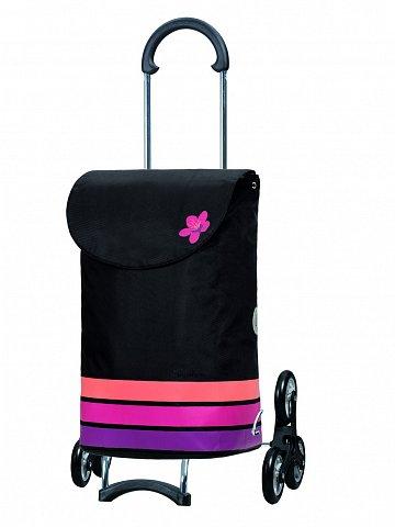 Nákupní taška Andersen TREPPENSTEIGER SCALA SHOPPER® BLOM - DO SCHODŮ, růžová