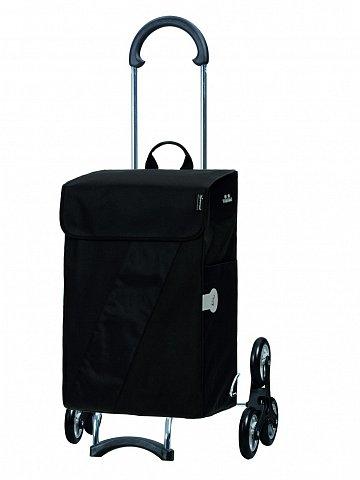 Nákupní taška Andersen TREPPENSTEIGER SCALA SHOPPER® VIKA - DO SCHODŮ, černá