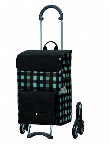 Nákupní taška Andersen TREPPENSTEIGER SCALA SHOPPER® RIVA - DO SCHODŮ, černá