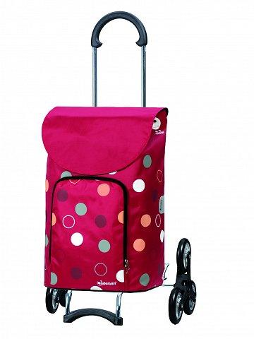 Nákupní taška Andersen TREPPENSTEIGER SCALA SHOPPER® KIRA - DO SCHODŮ, červená