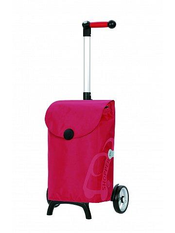Nákupní taška Andersen UNUS SHOPPER® FUN PEPE, červená