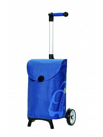 Nákupní taška Andersen UNUS SHOPPER® FUN PEPE, modrá