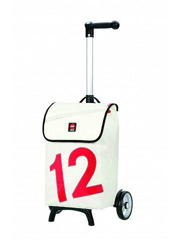 Nákupní taška Andersen UNUS SHOPPER® FUN LUV 12, bílá