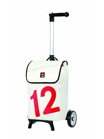 Nákupní taška Andersen UNUS SHOPPER® 360° LUV 12, bílá
