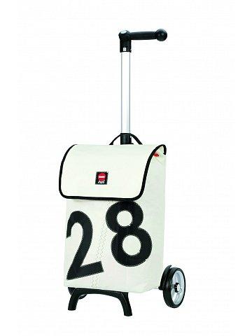 Nákupní taška Andersen UNUS SHOPPER® FUN LUV 28, bílá