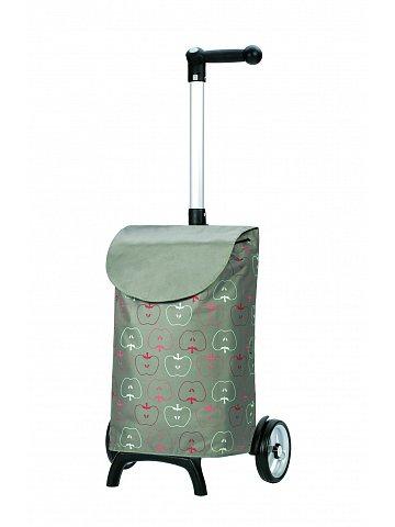 Nákupní taška Andersen UNUS SHOPPER® FUN HAVA, stříbrná