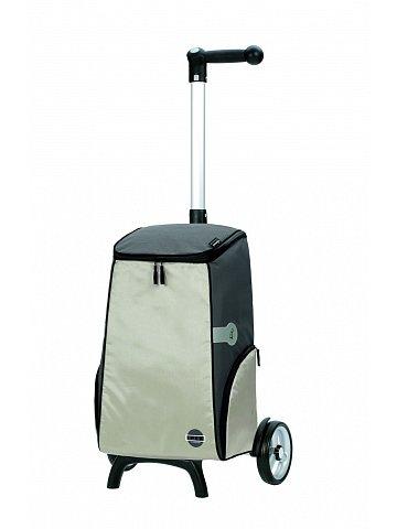 Nákupní taška na kolečkách Andersen UNUS SHOPPER® FUN IPEK, komplet termofunkce, stříbrná