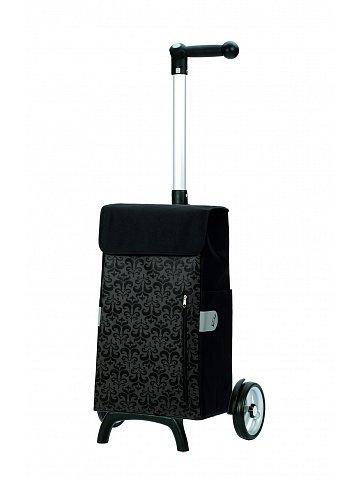 Nákupní taška Andersen UNUS SHOPPER® FUN DIVA, černá