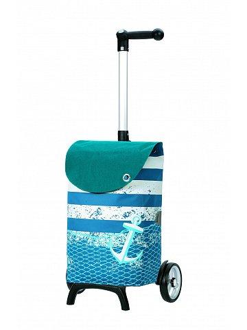 Nákupní taška Andersen UNUS SHOPPER® FUN MEER, modrá