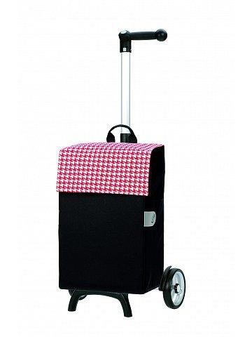 Nákupní taška Andersen UNUS SHOPPER® FUN IKO, červená