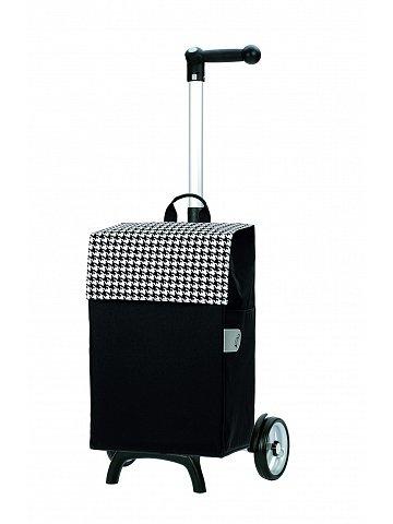 Nákupní taška Andersen UNUS SHOPPER® FUN IKO, černá