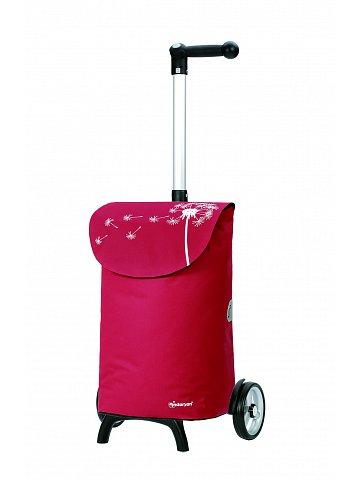 Nákupní taška Andersen UNUS SHOPPER® FUN BEA, červená
