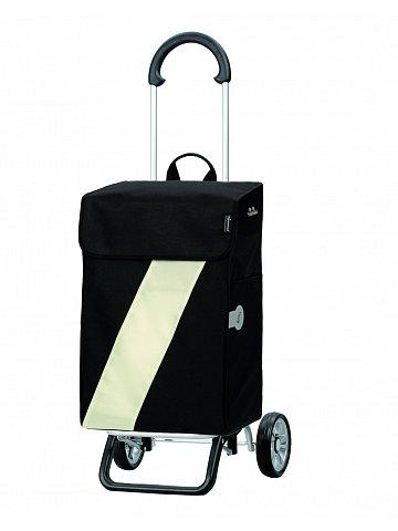 Taška na kolečkách Andersen SCALA SHOPPER® PLUS VIKA, černá + bílá