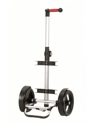 Nákupní taška Andersen TURA SHOPPER® ORTLIEB, kolečka s kuličkovými ložiskami, stříbrná