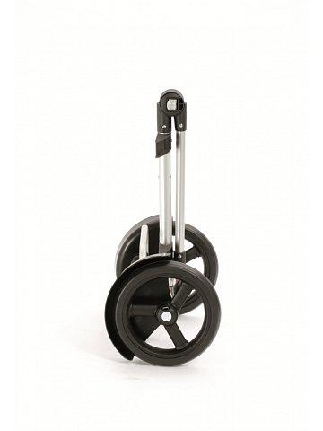 Taška na kolečkách Andersen TURA SHOPPER® ORTLIEB, kolečka s kuličkovými ložiskami, stříbrná