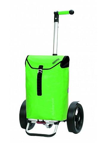 Taška na kolečkách Andersen TURA SHOPPER® ORTLIEB, kolečka s kuličkovými ložiskami, zelená