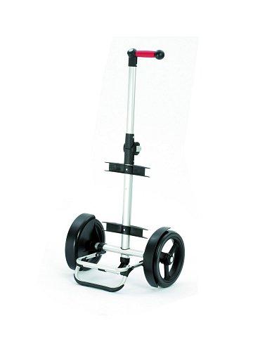 Nákupní taška Andersen TURA SHOPPER® ORTLIEB, kolečka s kuličkovými ložiskami, červená