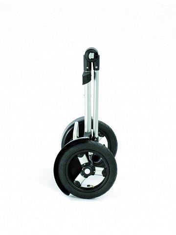 Taška na kolečkách Andersen TURA SHOPPER® HYDRO, nafukovací kolečka s kuličkovými ložisky, černá